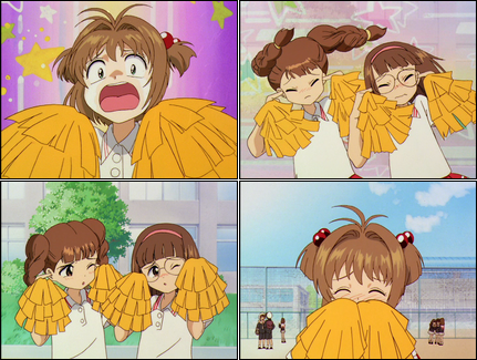 Cardcaptor Sakura collage.