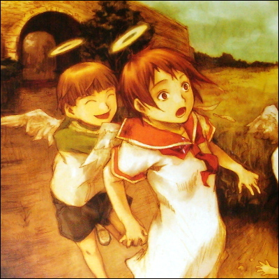 Photo from the Haibane-Renmei box art.