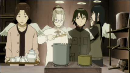 Haibane on Haibane Renmei  Episode 7 Commentary    The Pink Sylphide