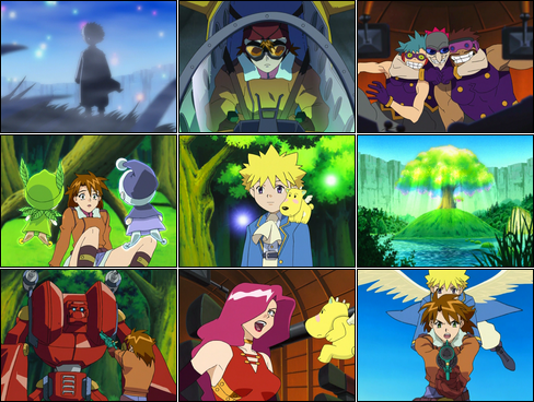 Collage of Michel screenshots.