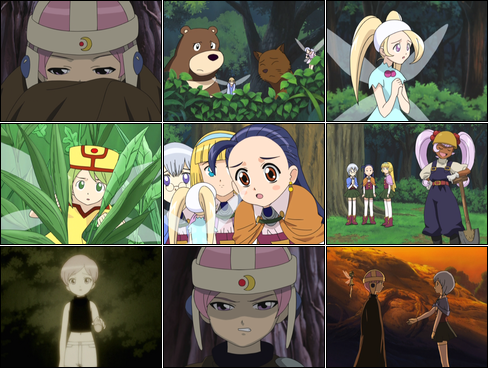 Collage of Petite Princess Yucie screenshots.