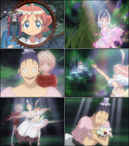 Collage of Princess Tutu screenshots.
