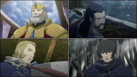 Collage of secondary characters.